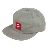 TILT T-BOLT 5 PANEL HAT - BARK - ADJUSTABLE