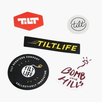 TILT STICKER 5 PACK 2017