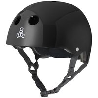 TRIPLE 8 BRAINSAVER HELMET - BLACK - SIZE SMALL - SKATE SCOOTER
