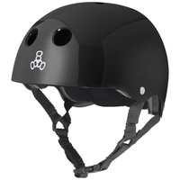 TRIPLE 8 BRAINSAVER HELMET - BLACK - SIZE XL - SKATE SCOOTER