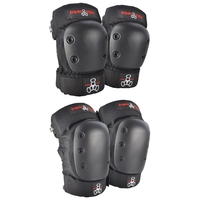 TRIPLE 8 PARK PRO KNEE ELBOW PROTECTIVE PAD SET - 2 PACK - SIZE SMALL
