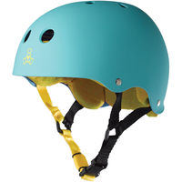 TRIPLE 8 BRAINSAVER SS HELMET - BAJA TEAL - SIZE LARGE - SKATE SCOOTER