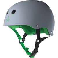 TRIPLE 8 BRAINSAVER SS HELMET -CARBON - SIZE LARGE - SKATE SCOOTER