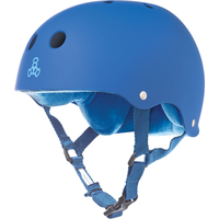 TRIPLE 8 BRAINSAVER SS HELMET - ROYAL BLUE - SIZE MEDIUM - SKATE SCOOTER