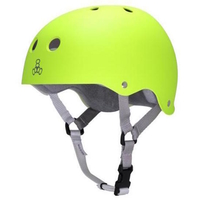 TRIPLE 8 BRAINSAVER SS HELMET - ZEST RUBBER  - SIZE LARGE - SKATE SCOOTER