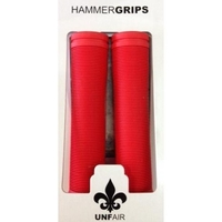 UNFAIR SCOOTER HAMMER HAND GRIPS - RED