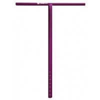 UNFAIR SCOOTER BARS - T BAR 670MM HIGH - PURPLE