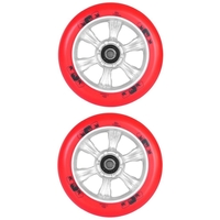 ENVY 6 SPOKE 110MM SCOOTER WHEELS SET OF 2 - RED