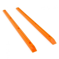 YOCAHER SKATEBOARD RAILS - MADE IN USA - ORANGE