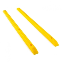 YOCAHER SKATEBOARD RAILS - MADE IN USA - YELLOW