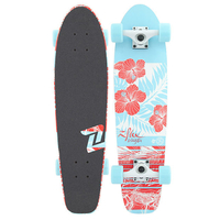 "Z-FLEX COMPLETE SKATEBOARD - BIKINI ATOLL CRUISER 29"" - HOT MESS"