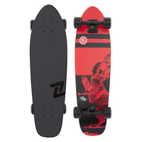 "Z-FLEX COMPLETE SKATEBOARD - HARBINGER CRUISER 27"" - TIME OF DEATH"