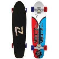Z-FLEX JAY ADAMS ZIPPER HEAD COMPLETE SKATEBOARD - BLUE RED
