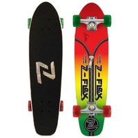 Z-FLEX JAY ADAMS ZIPPER HEAD COMPLETE SKATEBOARD - RASTA