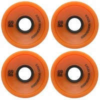 Z-FLEX LONGBOARD SKATEBOARD WHEELS - 69MM 78A - ORANGE