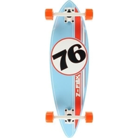 Z-FLEX PIN RACING MINI PINTAIL COMPLETE SKATEBOARD - BLUE / ORANGE