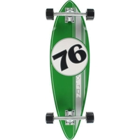 Z-FLEX PIN RACING MINI PINTAIL COMPLETE SKATEBOARD - GREEN