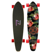 Z-FLEX PRAWN COCKTAIL ROUNDTAIL COMPLETE LONGBOARD SKATEBOARD