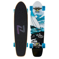 Z-FLEX SEALIFE BLUE COMPLETE CRUISER SKATEBOARD
