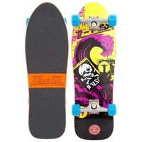 Z-FLEX TOXIC WAVE COMPLETE SKATEBOARD - YELLOW
