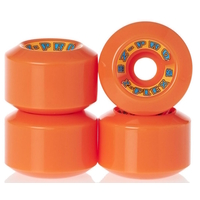 Z-FLEX Z-PRO 60MM SKATEBOARD WHEELS 90A - ORANGE