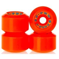 Z-FLEX Z-PRO 60MM SKATEBOARD WHEELS 90A - RED