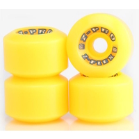 Z-FLEX Z-PRO 60MM SKATEBOARD WHEELS 90A - YELLOW