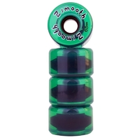 Z-FLEX Z-SMOOTH SKATEBOARD WHEELS GREEN