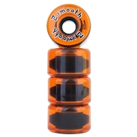 Z-FLEX Z-SMOOTH SKATEBOARD WHEELS ORANGE
