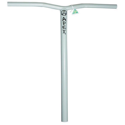 APEX BOL BARS - HIC - 600MM - LIGHT GREY