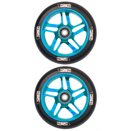 ENVY 120MM SCOOTER WHEELS SET OF 2 - BLACK BLUE