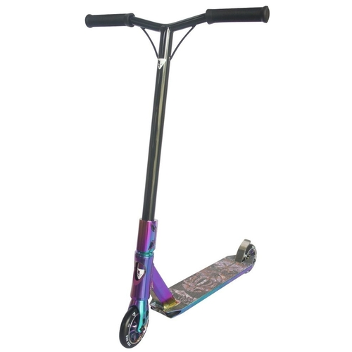 FOX PRO RAW 3.0 COMPLETE SCOOTER - NEOCHROME + BONUS STAND