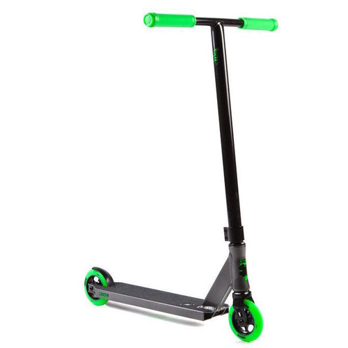 LUCKY COMPLETE SCOOTER - CREW 2017 - GRAPHITE GREEN - BONUS SCOOTER STAND