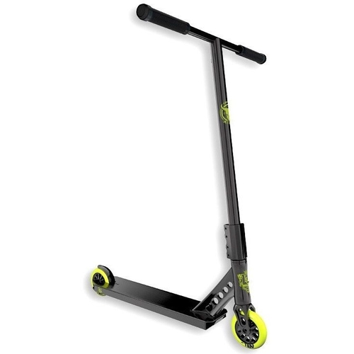 LUCKY COMPLETE SCOOTER - EVO 2017 - BLACK HI-LITER - BONUS SCOOTER STAND