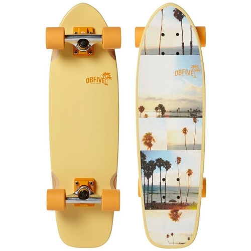 OBFIVE SO-CAL CRUISER SKATEBOARD COMPLETE