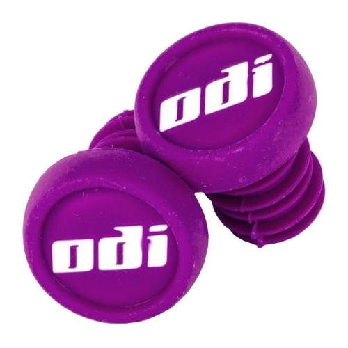 ODI BAR ENDS PLUGS - SOLD AS PAIRS - PURPLE