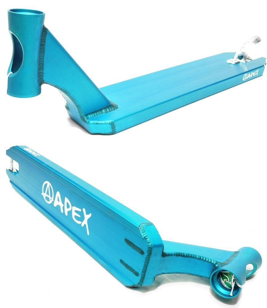 Apex Scooter Deck 580mm Turquoise