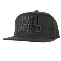 Anti Hero Black Hero Adjustable Hat Cap Black