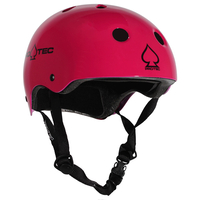 Protec Classic Bike Certified Helmet - Gloss Pink - Small