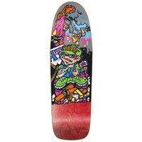 New Deal Skateboard Deck Howell Molotov Kid HT Red 9.875