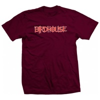 Birdhouse Pinhead T-Shirt Large Burgundy
