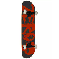 Zero Complete Skateboard Blood Black Red 7.75