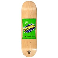 Folklore Skateboard Deck Fibretech Lite Chips Green 8.25