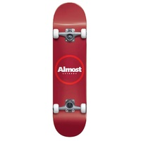 Almost Complete Skateboard FP Red Ringer Red 7.25