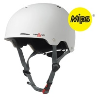 Triple 8 Gotham MIPS Sweatsaver Helmet White Rubber Size Small to Medium Skate Scooter