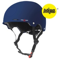 Triple 8 Gotham MIPS Sweatsaver Helmet Blue Rubber Size Extra Small to Small Skate Scooter