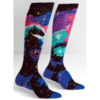 Sock It To Me Socks Pair Horsehead Nebula Knee High