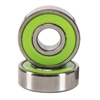 ABEC 13 Skateboard Bearing Green Single Bearing
