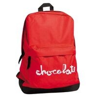 Chocolate New Simple Backpack Red