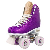 Crazy Skate Disco Glam Roller Skates Purple Gold Eu 36